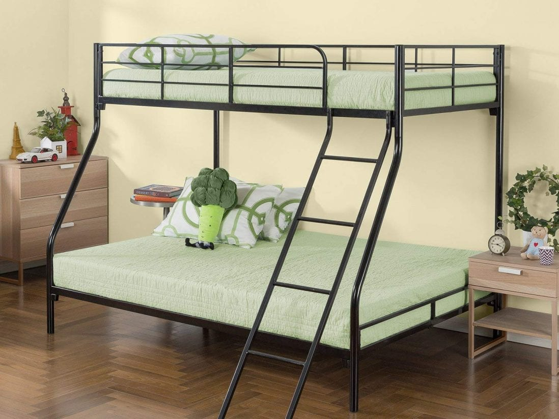 Zinus the best metal frame bunk bed review and buying guide by www.dailysleep.org