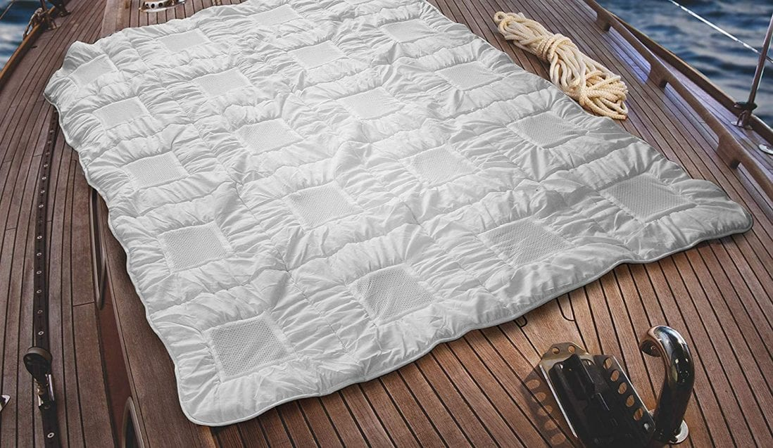 Climabalance Cooling Blanket Review and Buying Guide by www.dailysleep.org