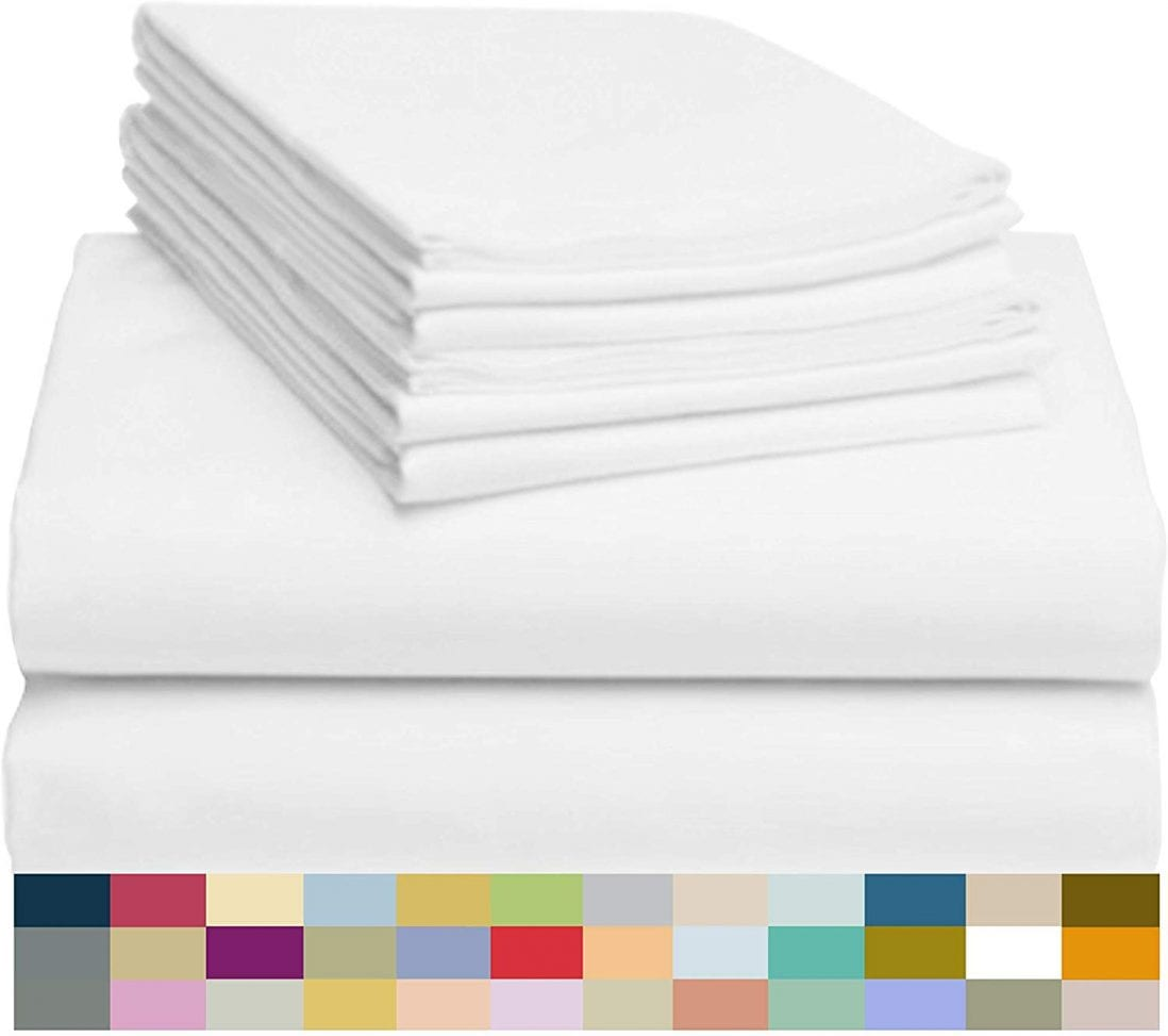 LuxClub Best Bamboo Sheets Review and Buying Guide by www.dailysleep.org