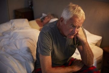 Poor Sleep and Mental Health in Older Adults by Melissa Burkley, PhD for www.dailysleep.org