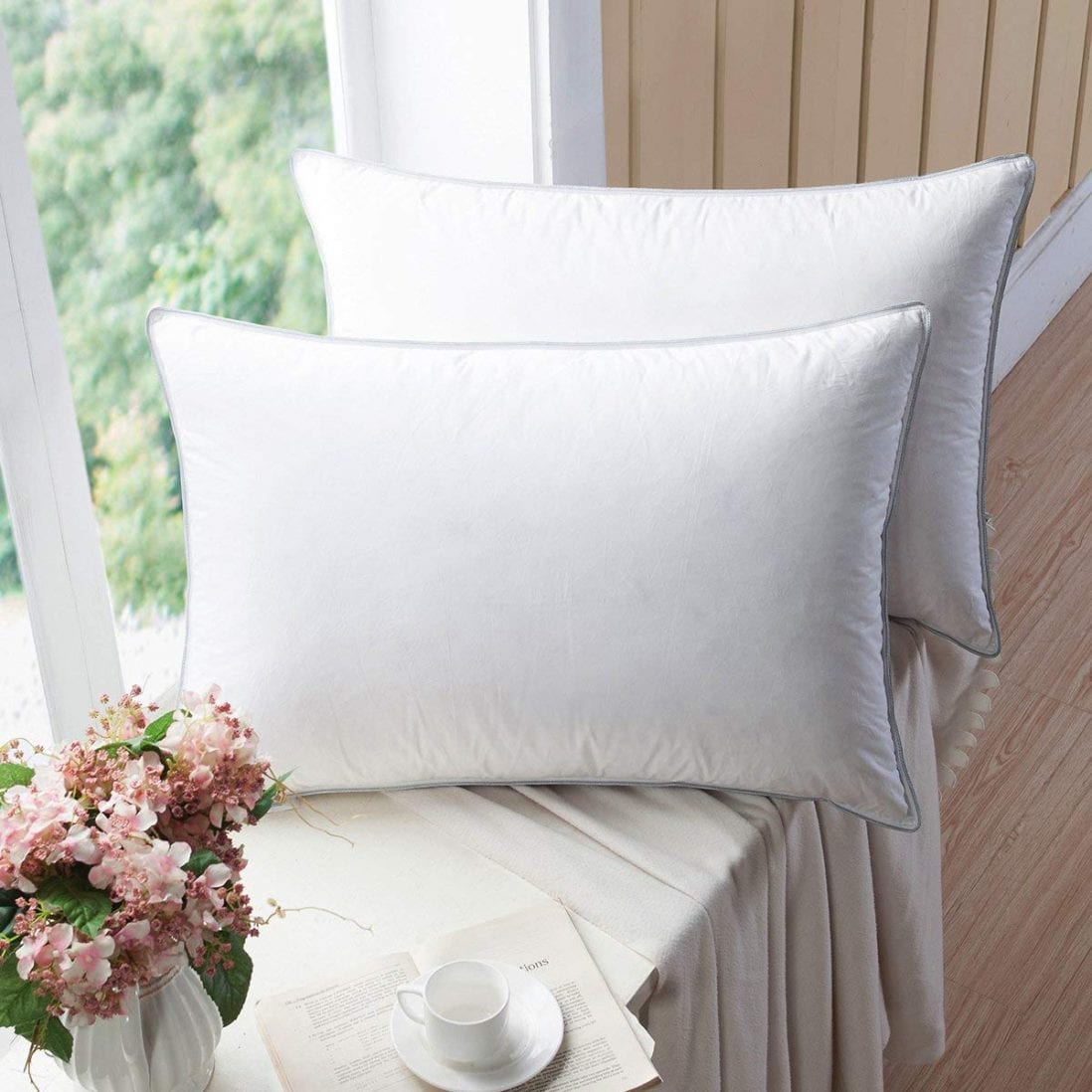 WENERSI Premium Goose Down Pillows Review and Buying Guide by www.dailysleep.com