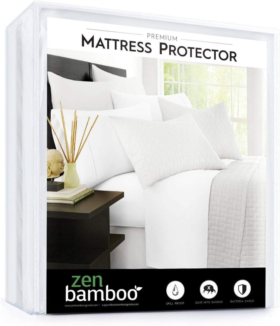 Zen Bamboo best cooling mattress protector review and buying guide by www.dailysleep.org