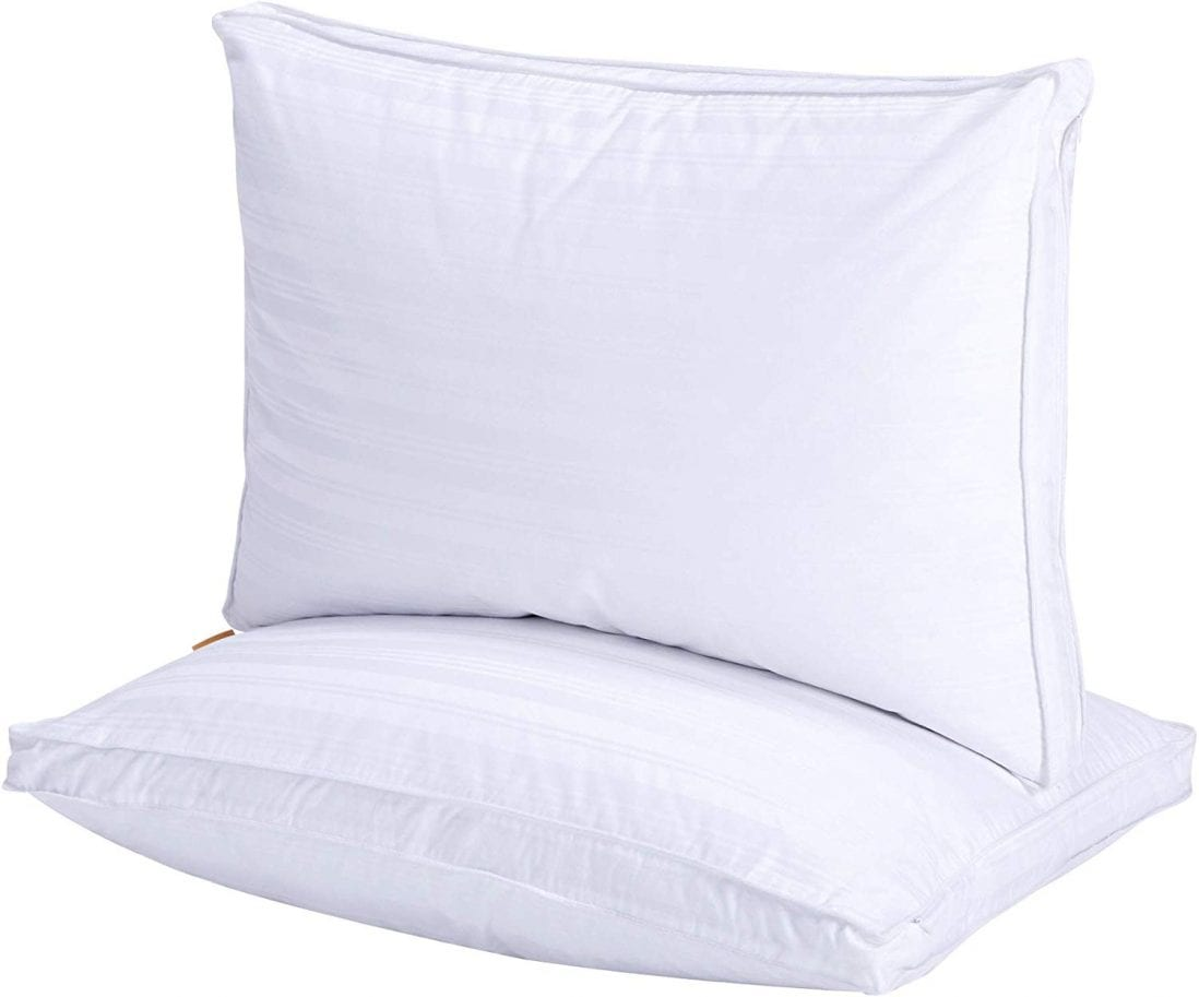 puredown® Natural Goose Down Pillow Review and Buying Guide by www.dailysleep.com
